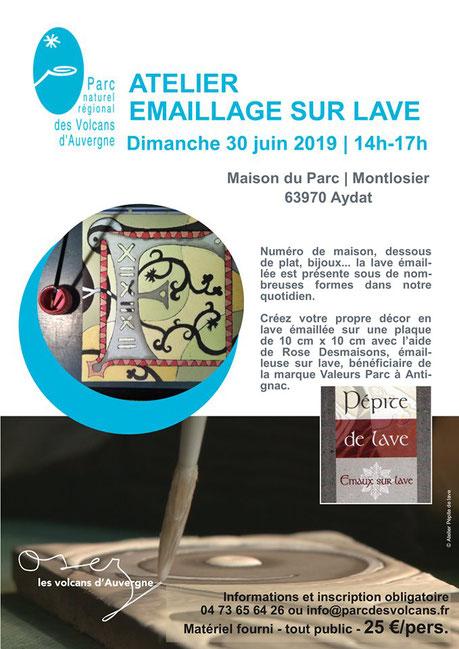 Communication parc des volcans d'Auvergne