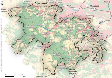 Les syndicats site de choisel for Parc naturel yvelines