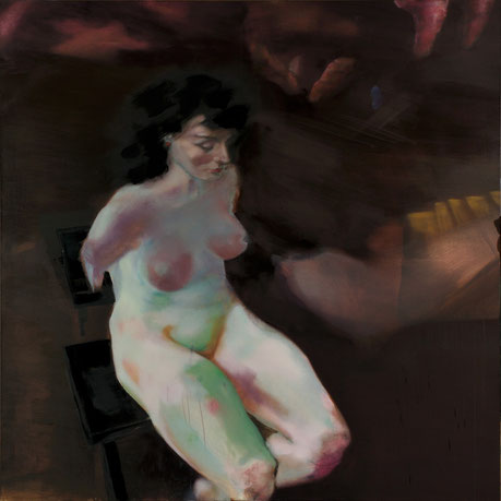 Carolin Wendel. Gebrechen. 2010. oil on canvas