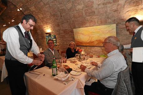 Sommelier im gehobenen Restaurant I Fratelli in Rheinfelden