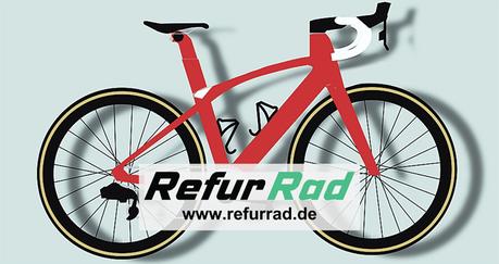 Rundum erneuerte Fahrräder für alle - Logo Refur Rad