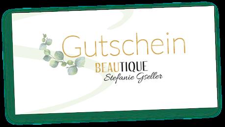 Geschenkgutschein für kosmetische Behandlungen und Kosmetik-Produkte in Pfedelbach bei Öhringen