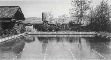 宗像高校 プール