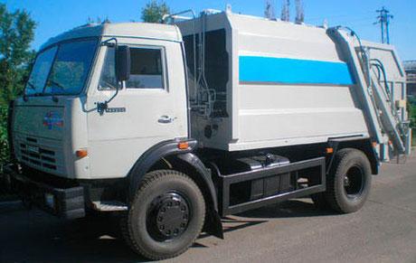 мусоровоз с задней загрузкой КО-456-20