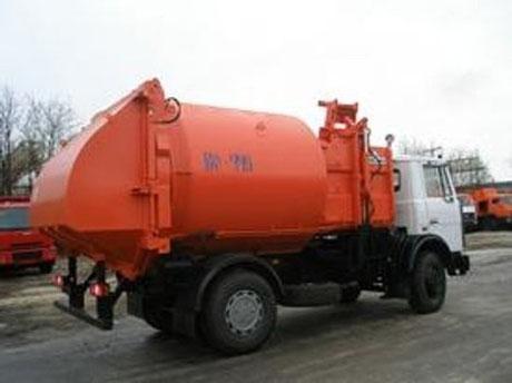 мусоровоз с боковой загрузкой КО-452-13
