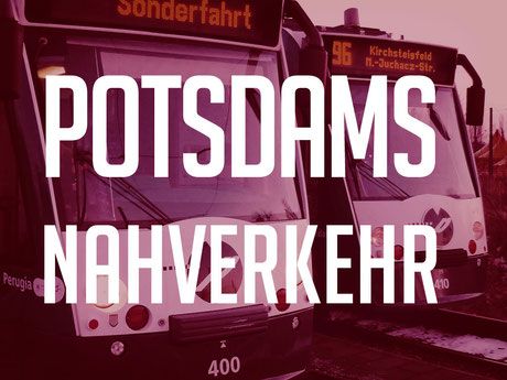Combino Straßenbahn in Potsdam