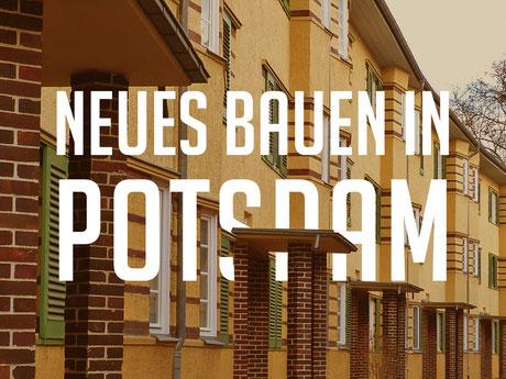 Wohnbauten aus den 1920er Jahren in Potsdam