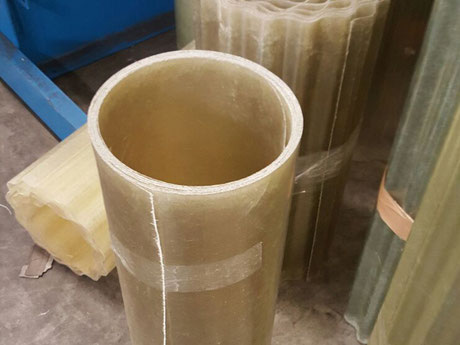 Polyester Wellplatten