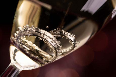 Hochzeitsringe, Eheringe, Hochzeitsbilder Eheringe, Makroaufnahmen Ehering