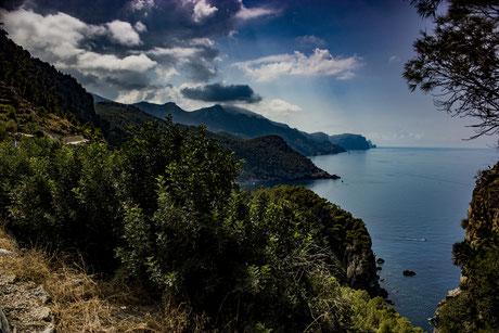 Tramuntana Gebirge, Mallorca, Ost-Küste