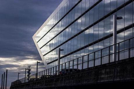 Dockland ander Elbe in Hamburg
