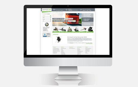 Webshop der Marke remacar