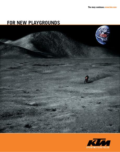 Geo & KTM: Motive für den Mond