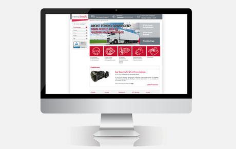 Webshop der Marke rematruck