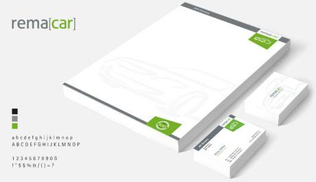 Logo & CD für die Marke remacar