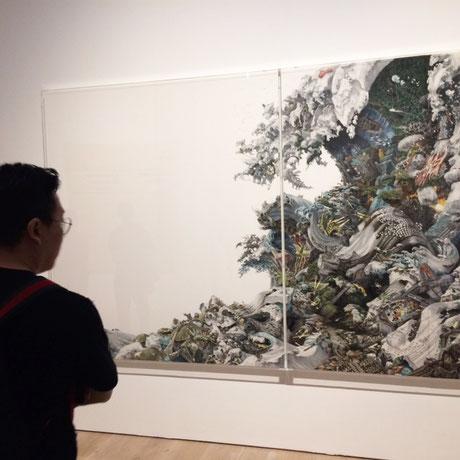池田学 東日本大震災をテーマにした作品。