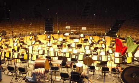 Orchesteraufbau: Wie sind die Instrumente verteilt?