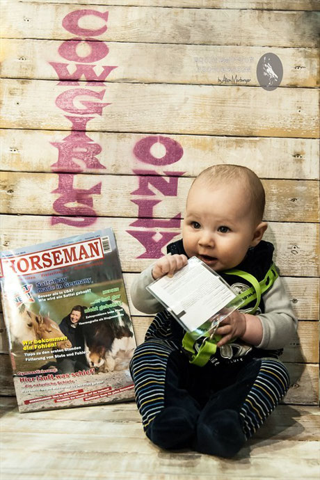 Vorstellung des neuen Horseman Magazins auf der EQUITANA in der Halle 7