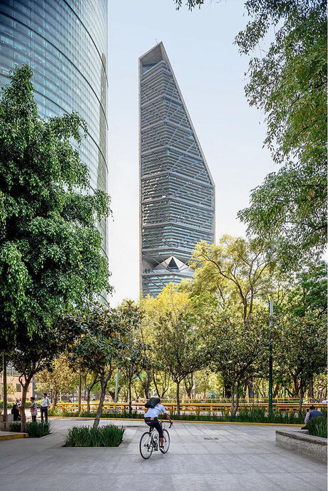 Preisträger 2018: Benjamín Romano: Torre Reforma, Mexiko-Stadt I Foto: Moritz Bernoully