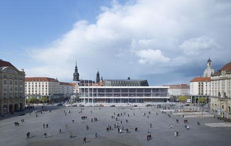 Preisträger: Modernisierung, Umbau Kulturpalast, GMP – ARCHITEKTEN VON GERKAN MARG UND PARTNER, Dresden Foto: Christian Gahl / gmp Architekten