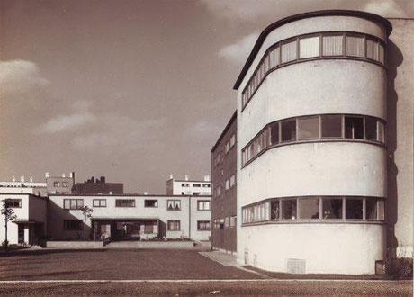 Siedlung Römerstadt, um 1928 \\ © Ernst-May-Gesellschaft, Inv. 10.15.02