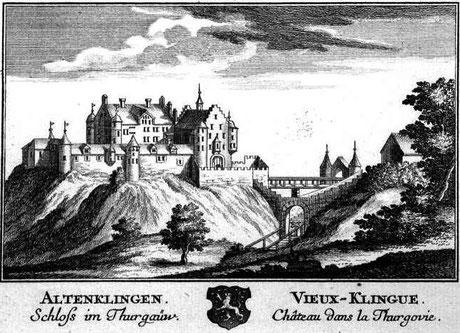 Kupferstich von David Herrliberger 1754