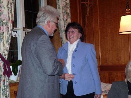 Dr. Wolfgang Erben, Frau Ingrid Riedelsheimer
