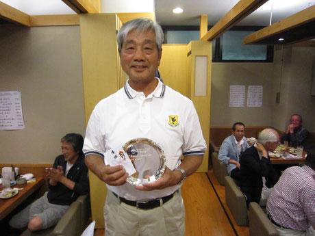平成26年度 シニアチャンピオン 後藤 勝彦 様