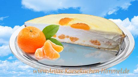 Mandarine-Käsekuchen Anjas Käsekuchen Himmel