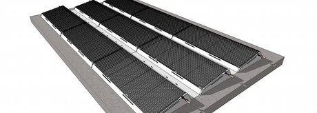 PliaTherm Montagesystem für Kissenkollektor