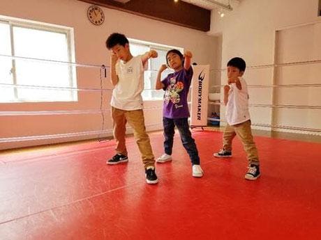 ボクシングキッズスクールWEB入会