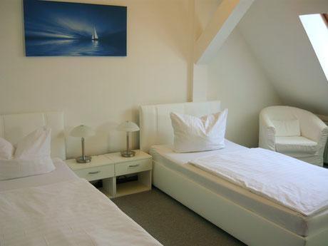Doppelzimmer Hotel Krone Lindow bei Neuruppin, Kremmen, Rheinsberg, Oranienburg, Berlin