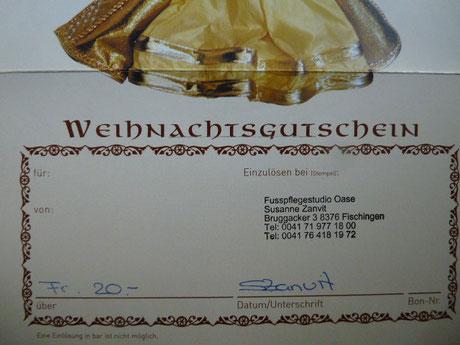Sponsor: Susanne Zanvit von fusspflegestudio-oase.jimdo.com