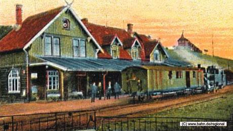 So sah der Stadtbahnhof in Sankt Andreasberg aus.