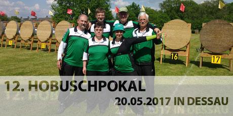 Erfolgreiche BSV Merkwitzer Bogenschützen beim 12. Hobusch-Wanderpokal am 20.05.2017 in Dessau-Roßlau
