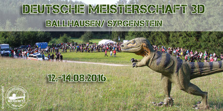 DM 3D in Ballhausen/ Syrgenstein - 13.-14.08.2016 mit Uwe Schönfisch und Paul Günther