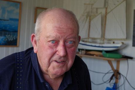 Jacquot Cabioch, informateur principal de Yann Riou pour son livre « Marins et bateliers de l'île de Batz