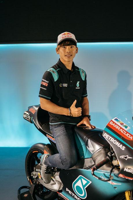 Ayumu Sasaki in der Moto3 für das Petronas Sprinta Racing Team