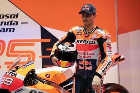 Jorge Lorenzo erstmals in neuen Teamfarben von Honda