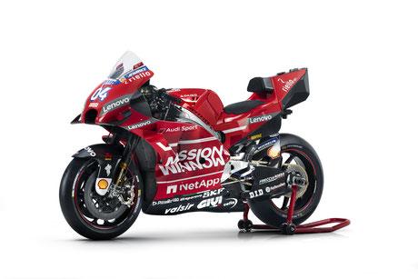 Das Ducati Design 2019.