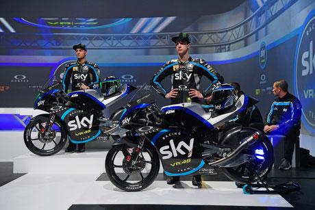 Dannis Foggia und Celestino Vietti Ramos für das Sky Racing Team 2019 in der Moto3