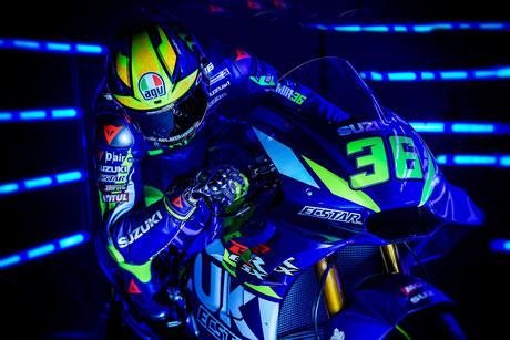 Joan Mir 2019 in der MotoGP für Suzuki