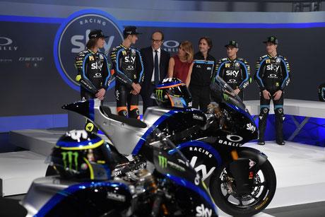 Das Sky Racing Team präsentiert sich für 2019.