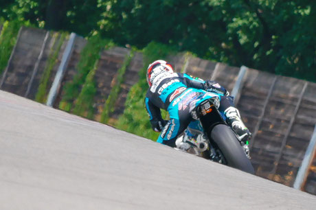 Fabio Quartararo in der Moto2 am Sachsenring 2018 für Speed Up