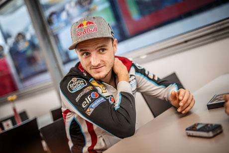 Jack Miller 2017 in der MotoGP für das Estrella Galicia 0,0 MarcVDS Team