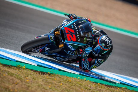 Francesco Bagnaia im Sky Racing Team 2018 in der Moto2