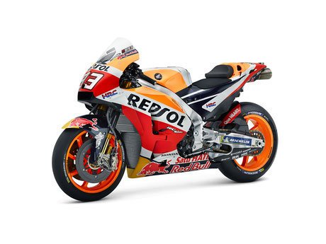 Repsol Honda Motorrad von Marc Marquez