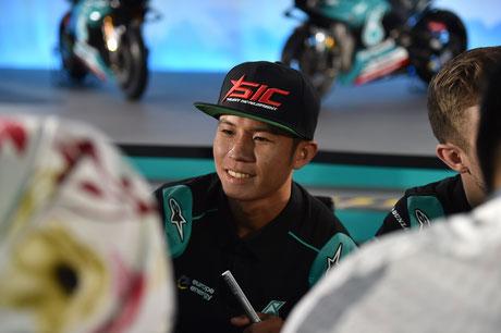 Khairul Idham Pawi in der Moto2 für das Petronas Sprinta Racing Team