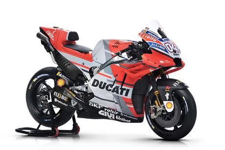 So sah die Ducati noch 2018 aus.