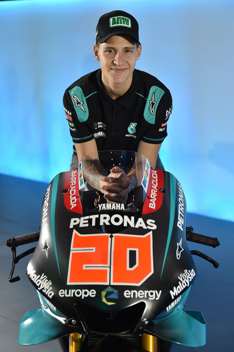 Fabio Quartararo in der MotoGP für das Petronas Sepang Racing